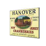 Etiqueta del arándano de la marca de Hannover Impresiones De Lienzo
