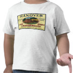 Etiqueta del arándano de la marca de Hannover Camisetas