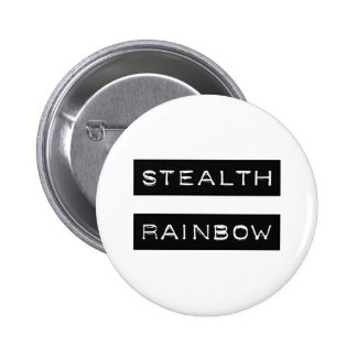 Etiqueta del arco iris de la cautela pin