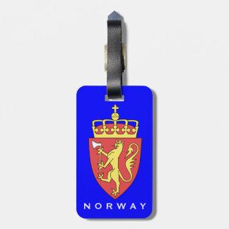 Etiqueta del bagasje de Norge   de la etiqueta del Etiquetas Para Maletas