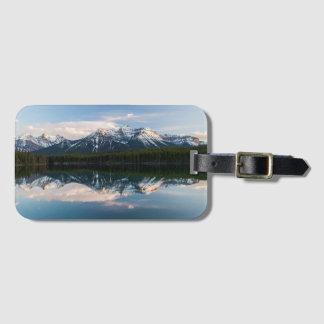 Etiqueta del bolso del lago herbert, Alberta, Etiqueta De Maleta