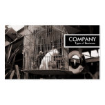 Etiqueta del borde - bestias enjauladas plantillas de tarjetas de visita