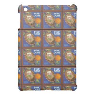 Etiqueta del cajón de la fruta cítrica del cono de