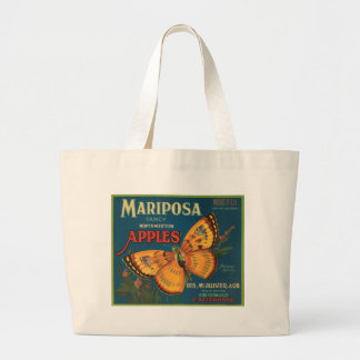 Etiqueta del cajón de la fruta de las manzanas de  bolsa