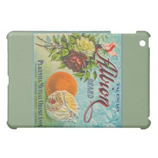 Etiqueta del cajón de la fruta de los naranjas de