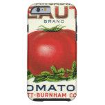 Etiqueta del cajón de la fruta del vintage, funda de iPhone 6 tough