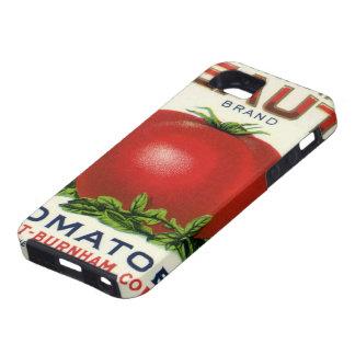 Etiqueta del cajón de la fruta del vintage, funda para iPhone 5 tough