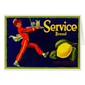 Etiqueta del cajón de la fruta del vintage tarjetas