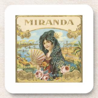 Etiqueta del cigarro de Miranda Posavaso