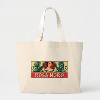 Etiqueta del cigarro de Rosa Moro Bolsas Lienzo