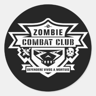 Etiqueta del club del combate
