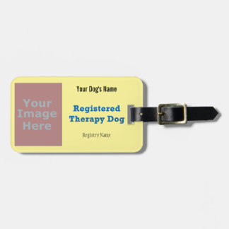 Etiqueta del correo - perro de la terapia etiquetas bolsas