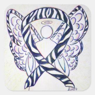 Etiqueta del cuadrado del ángel de la cinta de la