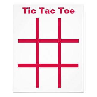 "ETIQUETA del dedo del pie de Tic Tac imanes del re Folleto 4.5"" X 5.6"""
