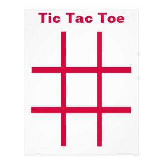 "ETIQUETA del dedo del pie de Tic Tac imanes del re Folleto 8.5"" X 11"""