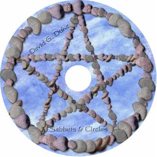 etiqueta del disco de los sabbets fotoescultura vertical