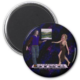 etiqueta del disco imanes de nevera