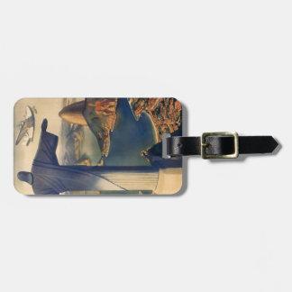 Etiqueta del equipaje con la impresión de Río de J Etiquetas De Equipaje