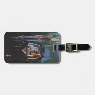 Etiqueta del equipaje con la impresión fresca de Y Etiquetas Bolsa