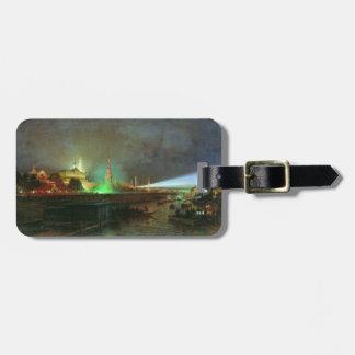 Etiqueta del equipaje con la pintura de Alexei Bog Etiqueta Para Equipaje