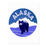 Etiqueta del equipaje de Alaska Postales