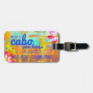 Etiqueta del equipaje de CABO SAN LUCAS Etiquetas Bolsa