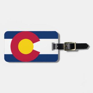 Etiqueta del equipaje de Colorado Etiquetas De Maletas