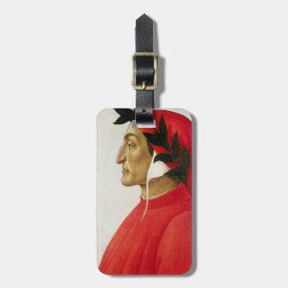 Etiqueta del equipaje de Dante Etiquetas De Maletas