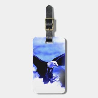 Etiqueta del equipaje de Eagle en vuelo Etiquetas Maleta