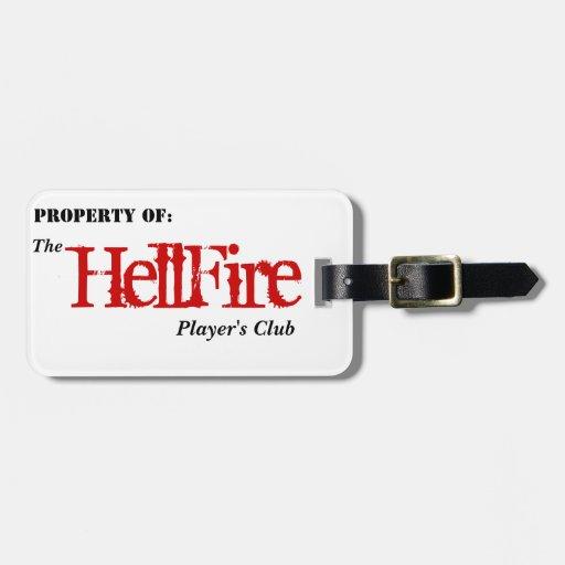 Etiqueta del equipaje de HFPC Etiquetas Para Equipaje
