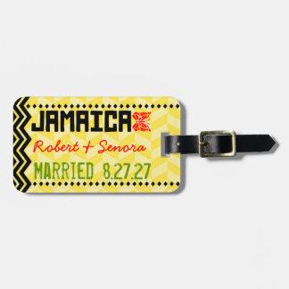 Etiqueta del equipaje de JAMAICA Etiquetas De Equipaje