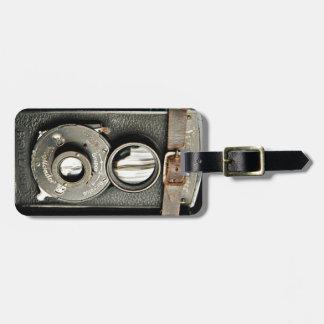 Etiqueta del equipaje de la cámara del vintage etiquetas para maletas
