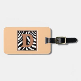 Etiqueta del equipaje de la D-Cebra