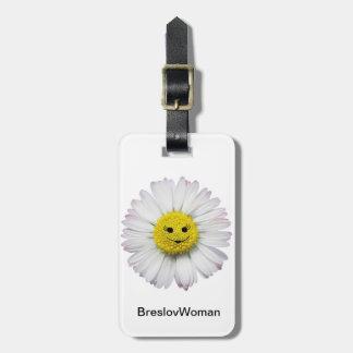 Etiqueta del equipaje de la mujer de Breslov con l Etiqueta De Maleta