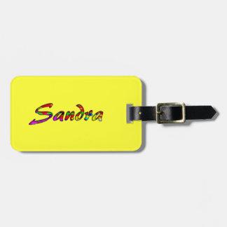 Etiqueta del equipaje de los accesorios del viaje etiqueta de equipaje