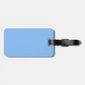 Etiqueta del equipaje de los azules cielos etiqueta para equipaje