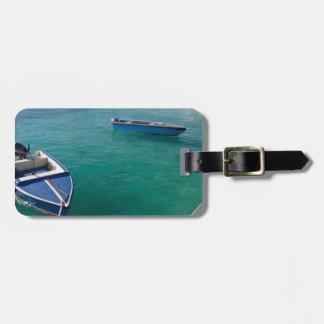 Etiqueta del equipaje de los barcos de Anguila Etiquetas De Equipaje