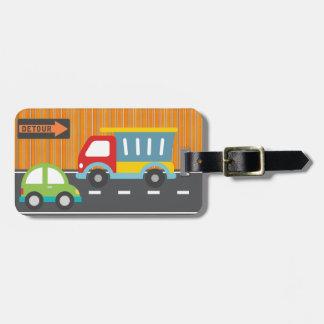 etiqueta del equipaje de los coches y de los camio etiquetas para equipaje