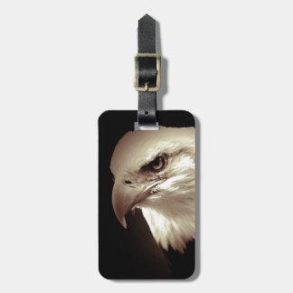 Etiqueta del equipaje de los ojos de Eagle Etiquetas De Equipaje