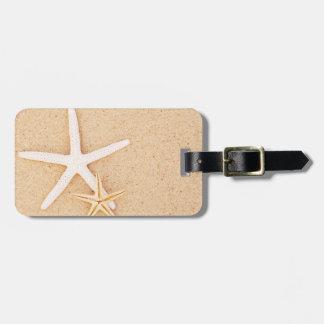 Etiqueta del equipaje de los pares de las estrella etiquetas de maletas
