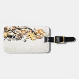 Etiqueta del equipaje de los Seashells Etiquetas Bolsas