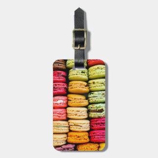 Etiqueta del equipaje de Macaron Etiqueta De Equipaje