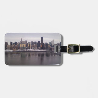 Etiqueta del equipaje de New York City Etiqueta Para Maleta