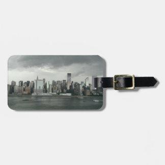 Etiqueta del equipaje de New York City Etiquetas Para Equipaje