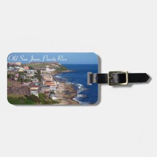 Etiqueta del equipaje de Puerto Rico Etiquetas De Equipaje