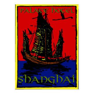 Etiqueta del equipaje de Shangai Postales