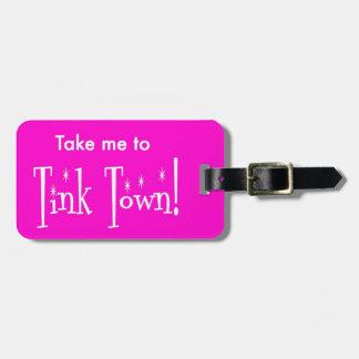 Etiqueta del equipaje de Tink Tinkerbelle Disney Etiquetas Maleta