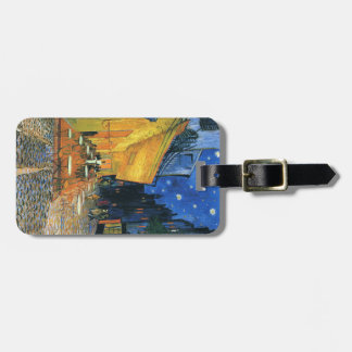 ¡Etiqueta del equipaje de Van Gogh - modifiqúela p Etiquetas De Maletas