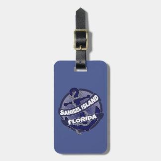 Etiqueta del equipaje del ancla de la Florida de Etiqueta De Equipaje