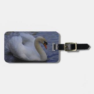 Etiqueta del equipaje del cisne